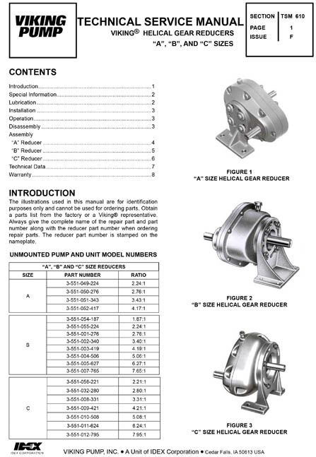 rotodel gear pump manual pdf